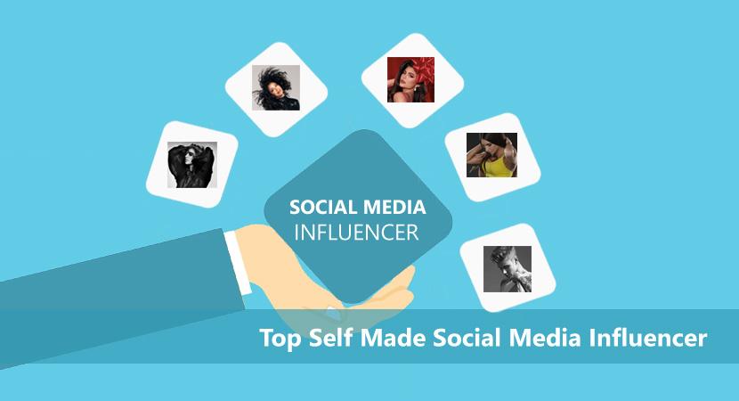 Top Self Made Social Media Influencer